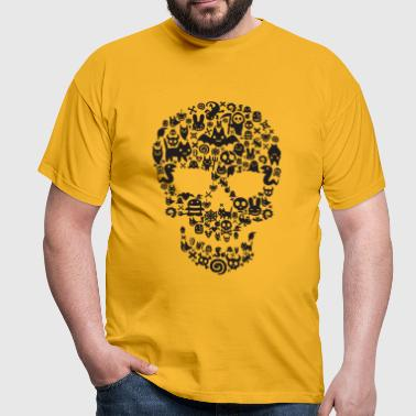 monsters_skull - T-shirt Homme