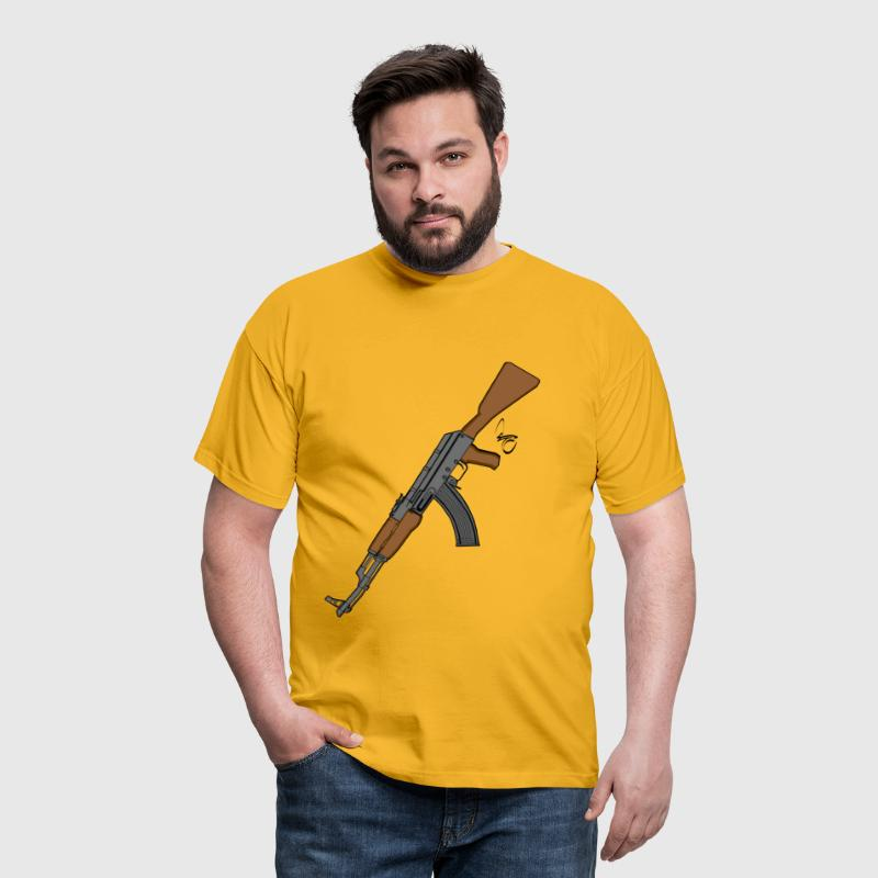 AK 47 Digital Version - Männer T-Shirt