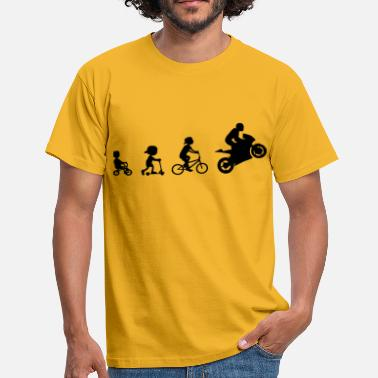 Supersport Evolution Biker Evolution Supersport 1 - Herre-T-shirt