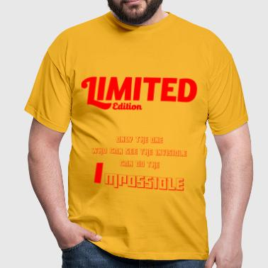 Limited Edition by Claudia-Moda - Männer T-Shirt