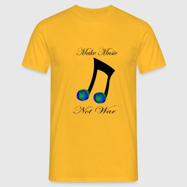 Music-not-War - Männer T-Shirt