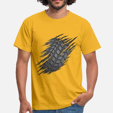 Torn Torn Tyre - Men's T-Shirt