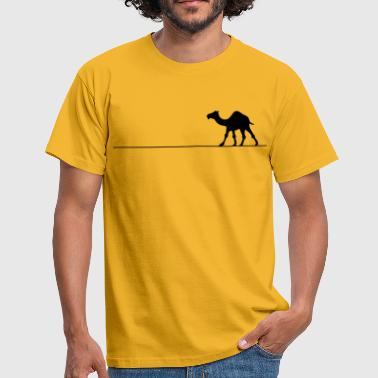 Camel line - Men's T-Shirt