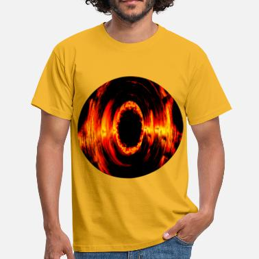 Black Hole Brennender Röhre, Burning tube - Men's T-Shirt