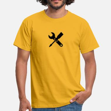 Workman workman, screwdriver - Men's T-Shirt
