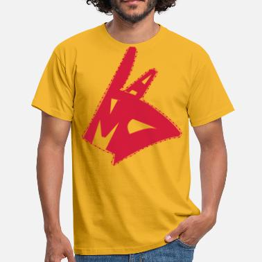 Lama Lama hand - Men's T-Shirt
