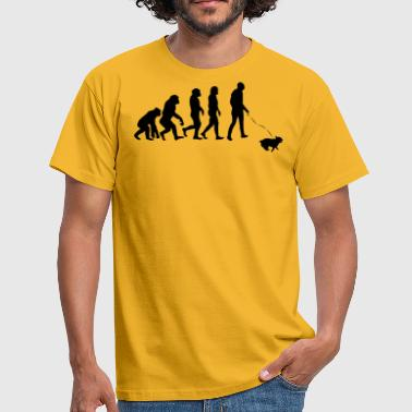 Loopy ++ ++ Dog owners Evolution - Men's T-Shirt