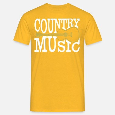 Countrymusik countrymusik - T-shirt herr