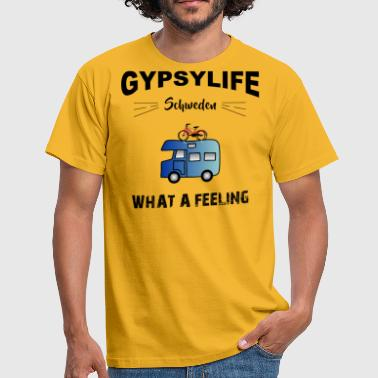 Gypsylife Sweden - What a feeling - Men's T-Shirt