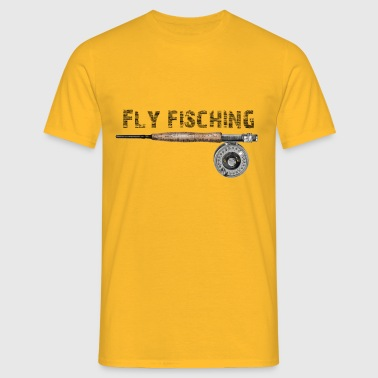 fly lishing - Mannen T-shirt