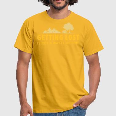 Get Lost getting lost - Men's T-Shirt