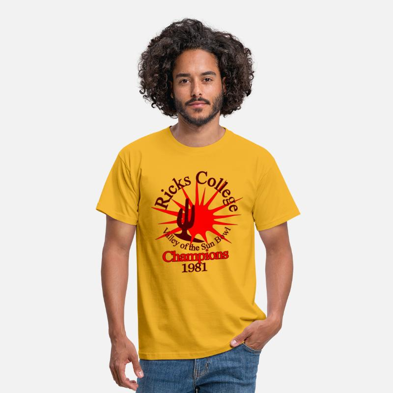 Napoleon T-Shirts - Napoleon Dynamite Vote for Pedro - Men's T-Shirt yellow