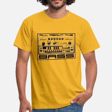 Synthesizer All About The Bass - Men's T-Shirt