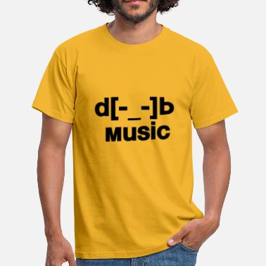 D B d[music]b - Men's T-Shirt