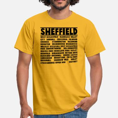 Auktioner Sheffield City - T-shirt herr