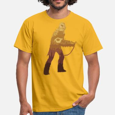 George Lucas Chewbacca Silhouette - Men's T-Shirt