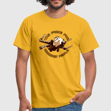X-wing Ordinary brown - Männer T-Shirt