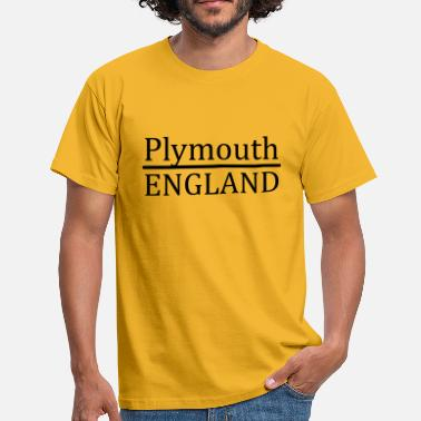 Plymouth Plymouth England - Herre-T-shirt