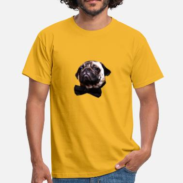 Posh Posh Pug - T-skjorte for menn