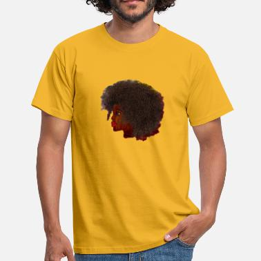 Africain Fille africaine - T-shirt Homme