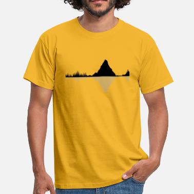 Lande land - Herre-T-shirt