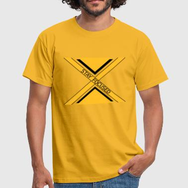 x dash logo beams focused stay focused koenig - Men's T-Shirt