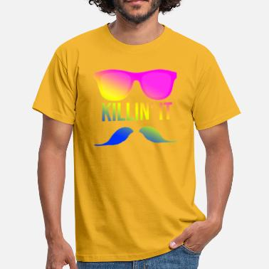 Sunny Killin it - sunglasses nerd style hipster - Männer T-Shirt