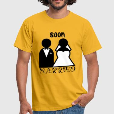 Soon married by Claudia-Moda - Maglietta da uomo