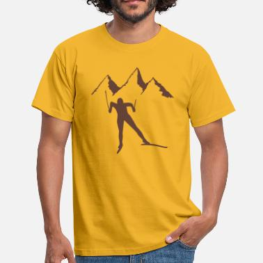 Snowy snowy - Men's T-Shirt