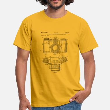 Vintage camera - drawing of an old camera - T-shirt Homme