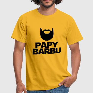 Papy Barbu papy barbu,formes,citations,message - T-shirt Homme