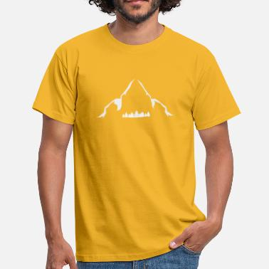 trailrunning mountain running shirt design  - Männer T-Shirt