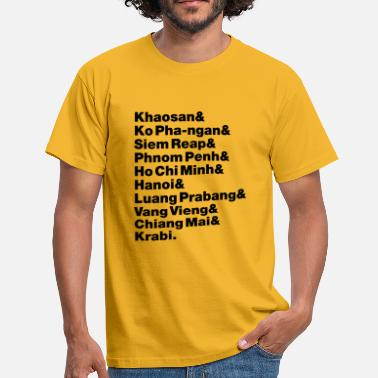 Siem Reap Banana Pancake Trail / Circuit - Men's T-Shirt