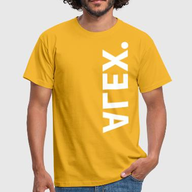 alex - Mannen T-shirt