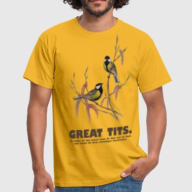 Great Tits - Männer T-Shirt