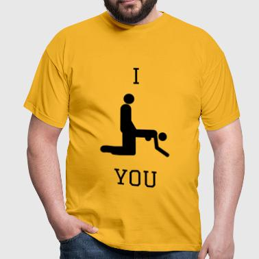 Doggy Sex - Männer T-Shirt