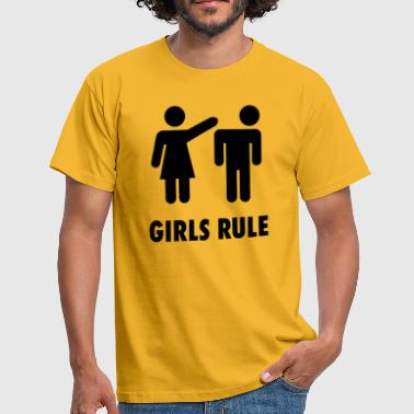 Girls rule - Men's T-Shirt