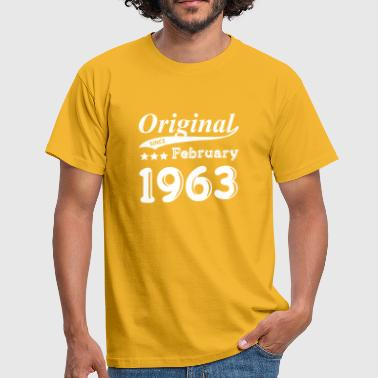 February 1963 Original Since February 1963 gift - Men's T-Shirt