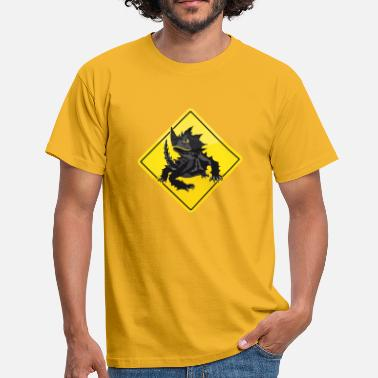 Roadsign Australie Road Sign Épineux diable - T-shirt Homme