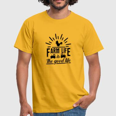 Country life farm gift - Men's T-Shirt