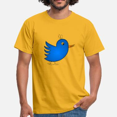 Happy Bird - Mannen T-shirt