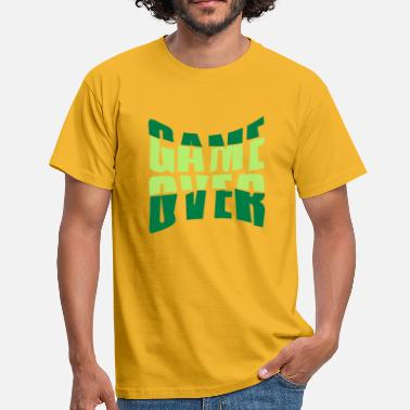Nausea text game over puking vomit nausea - Men's T-Shirt