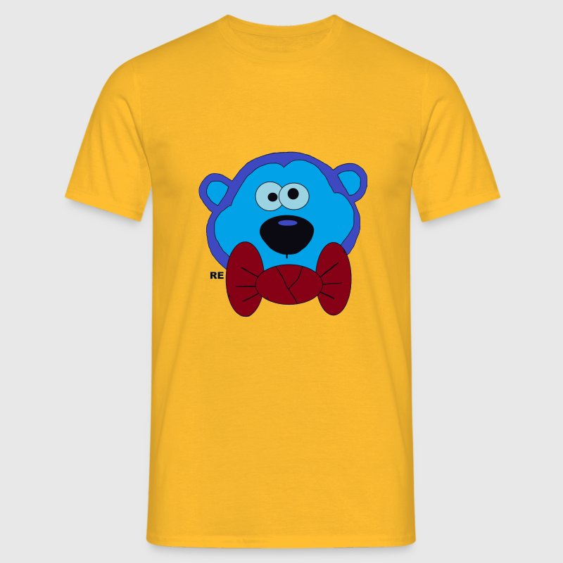 Billy TheBlueMonkey Affe YouTube Party Fun Monkey - T-shirt Homme
