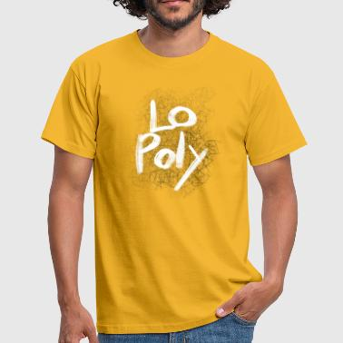 lo poly - Herre-T-shirt