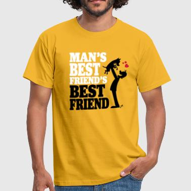 Man's best friend's best friend - Mannen T-shirt