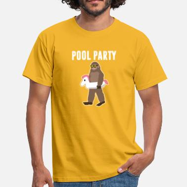 Pool Party Pool Party - Men's T-Shirt