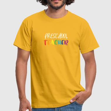 Preschool teacher - Men's T-Shirt