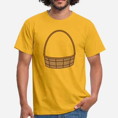 Basket Maker fill basket basket easter basket gifts - Men's T-Shirt
