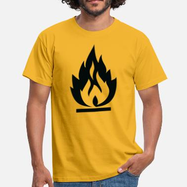 Flame Graffiti Wildstyle Flame - Men's T-Shirt