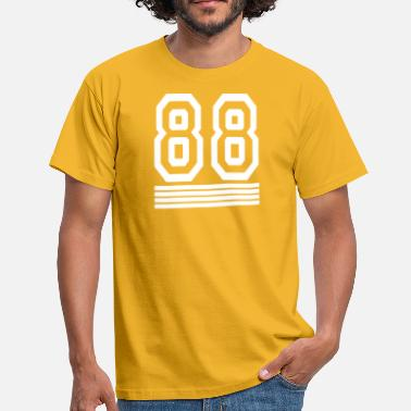 88 Number 88 Number - Men's T-Shirt